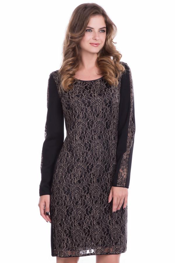 Платье Betty BarclayПлатья<br>Платье Betty Barclay женское серебристо-чёрное. Приталенное комбинированное платье из натурального и искусственного материала подойдёт любой женщине. Изюминка этой модели – серебристая ажурная ткань с подкладкой чёрного цвета. Платье длиной чуть выше колена, с длинным рукавом со вставками серебристого материала, выглядит модно и стильно. Состав: полиамид, хлопок.<br><br>Размер RU: 50<br>Пол: Женский<br>Возраст: Взрослый<br>Материал: хлопок 45%, полиамид 55%<br>Цвет: Серебристый