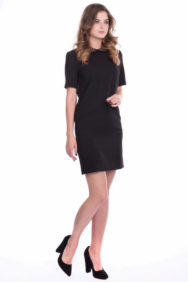 Платье SetПлатья<br><br><br>Размер RU: 40<br>Пол: Женский<br>Возраст: Взрослый<br>Материал: эластан 4%, полиэстер 96%<br>Цвет: Чёрный