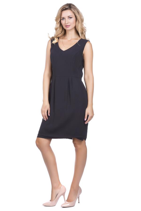 Платье TaifunПлатья<br><br><br>Размер RU: 46<br>Пол: Женский<br>Возраст: Взрослый<br>Материал: полиэстер 100%<br>Цвет: Чёрный