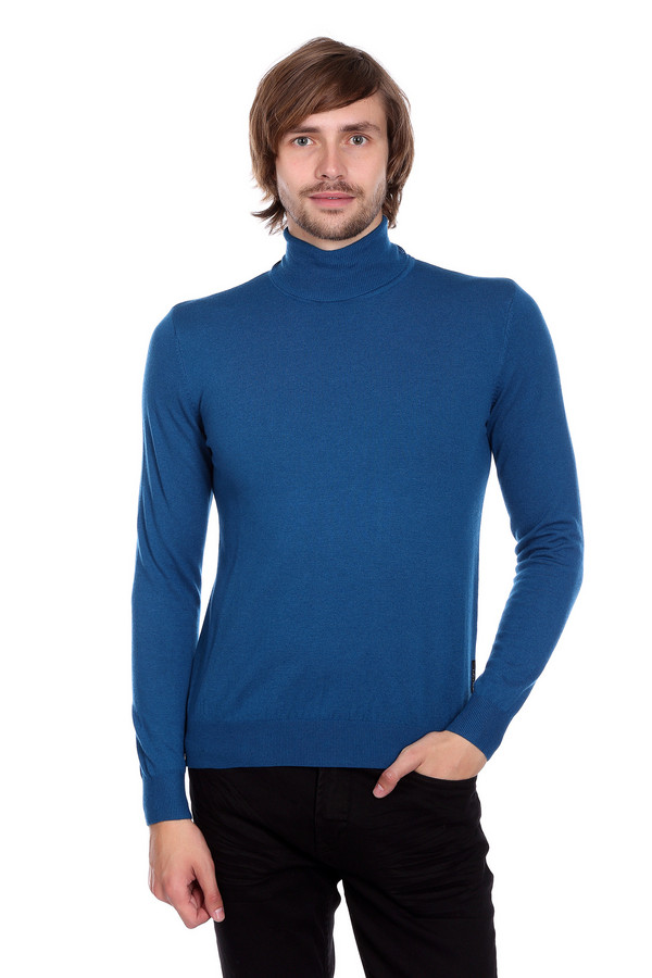 Джемпер PezzoДжемперы и Пуловеры<br>Джемпер Pezzo синий. Просто, строго, ярко – таков девиз этой замечательной модели. Если вам приелись тусклые однообразные тона в вашем гардеробе, то эта вещь создана специально для вас. Никогда еще мужская мода не была столь очаровательной и интересной. Высокий воротник сохранит вас от ветра и простуд. Состав: шерсть, вискоза, полиамид.<br><br>Размер RU: 54<br>Пол: Мужской<br>Возраст: Взрослый<br>Материал: полиамид 35%, вискоза 46%, шерсть 19%<br>Цвет: Синий