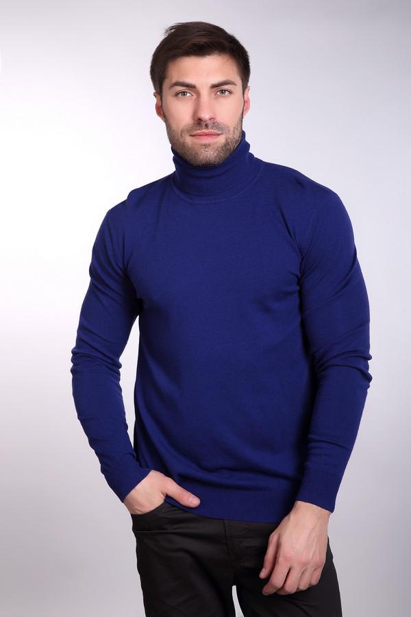 Джемпер PezzoДжемперы<br>Джемпер Pezzo насыщенно синий. Просто, строго, ярко – таков девиз этой замечательной модели. Если вам приелись тусклые однообразные тона в вашем гардеробе, то эта вещь создана специально для вас. Никогда еще мужская мода не была столь очаровательной и интересной. Высокий воротник сохранит вас от ветра и простуд. Состав: шерсть, вискоза, полиамид.<br><br>Размер RU: 52<br>Пол: Мужской<br>Возраст: Взрослый<br>Материал: полиамид 35%, вискоза 46%, шерсть 19%<br>Цвет: Синий