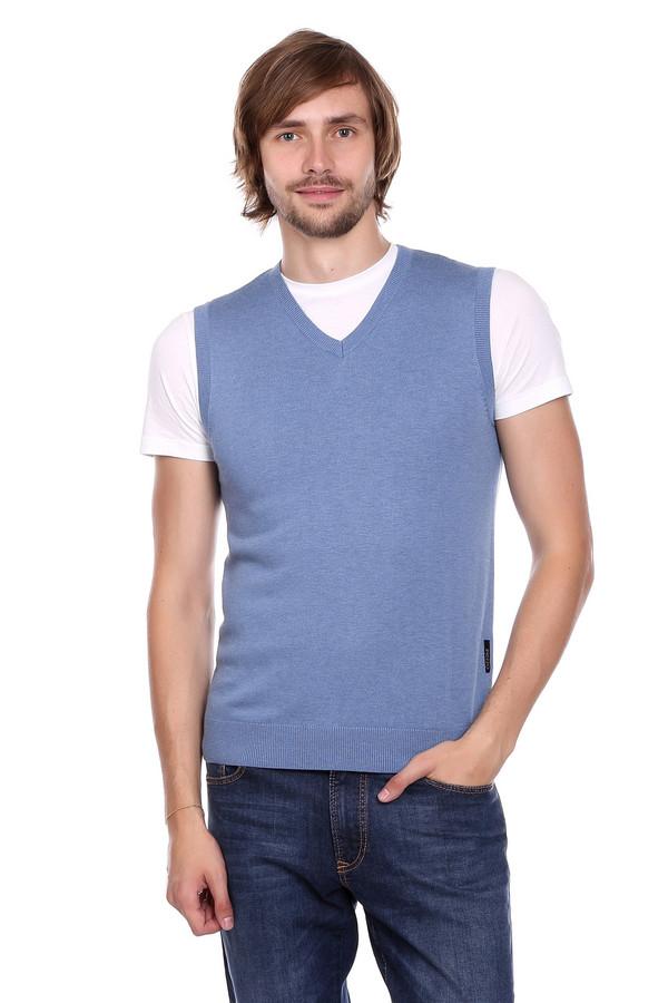 Жилет PezzoЖилеты<br>Жилет Pezzo мужской голубой. Отличная модель для офиса или более неформальных мероприятий. Комбинировать это изделие вы сможете с рубашками (длинный или короткий рукав), а также с футболками, подходящими по цветовой гамме. Эта модель с V-образным вырезом горловины смотрится достаточно нетривиально из-за своего оттенка. Простота и лаконизм – залог успеха этого жилета.<br><br>Размер RU: 58<br>Пол: Мужской<br>Возраст: Взрослый<br>Материал: вискоза 55%, полиамид 22%, шерсть 23%<br>Цвет: Голубой