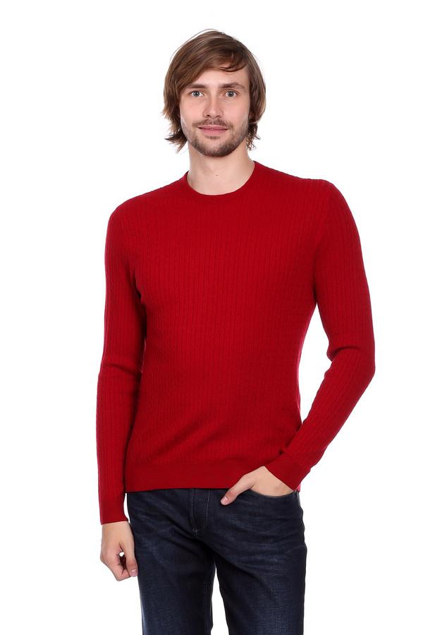 Джемпер PezzoДжемперы<br>Мужской джемпер от бренда Pezzo красного оттенка. Тоненькие вертикальные косички визуально стройнят, делая вас к тому же выше. Необходимая вещь в мужском гардеробе. Состав: шерсть, вискоза, полиамид.<br><br>Размер RU: 46<br>Пол: Мужской<br>Возраст: Взрослый<br>Материал: полиамид 35%, вискоза 46%, шерсть 19%<br>Цвет: Красный