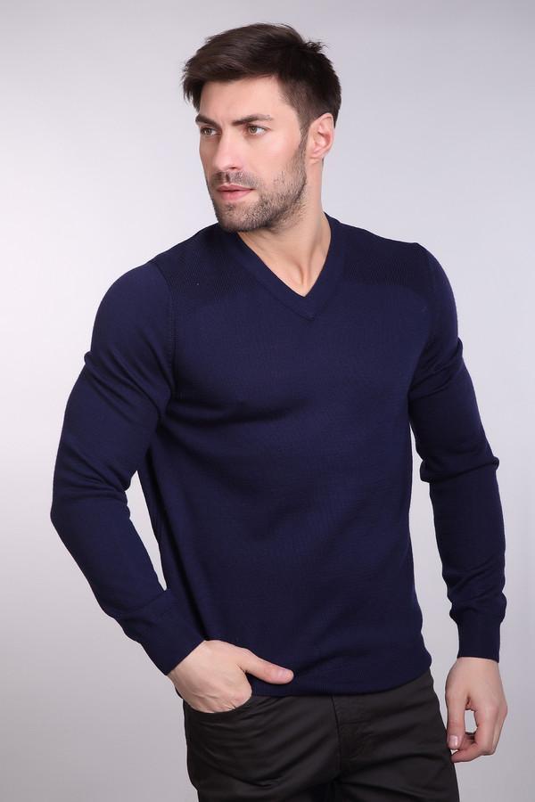 Джемпер PezzoДжемперы<br>Джемпер Pezzo темно-синего оттенка. Строгий и простой – так мы можем описать это изделие.  V-образ ный вырез горловины дает возможность оставлять шею свободной, что так часто ценят мужчины или комбинировать данную вещь с подходящей рубашкой. Возможность здесь просто безграничны! Состав: шерсть, акрил.<br><br>Размер RU: 54<br>Пол: Мужской<br>Возраст: Взрослый<br>Материал: шерсть 50%, акрил 50%<br>Цвет: Синий