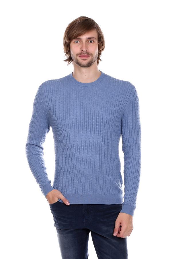 Джемпер PezzoДжемперы<br>Мужской джемпер от бренда Pezzo голубого оттенка. Тоненькие вертикальные косички визуально стройнят, делая вас к тому же выше. Необходимая вещь в мужском гардеробе. Состав: шерсть, вискоза, полиамид.<br><br>Размер RU: 54<br>Пол: Мужской<br>Возраст: Взрослый<br>Материал: полиамид 35%, вискоза 46%, шерсть 19%<br>Цвет: Голубой