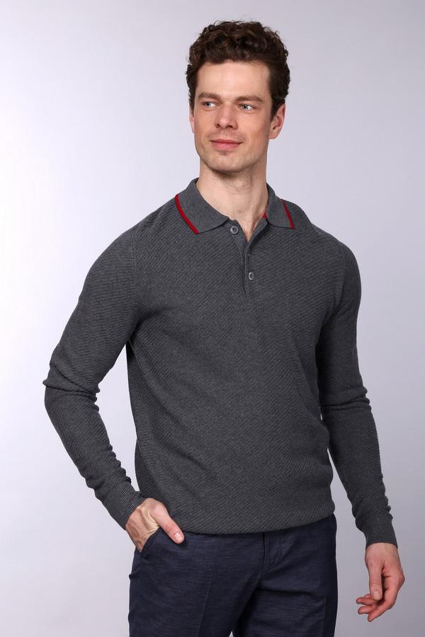 Джемпер PezzoДжемперы<br>Джемпер Pezzo серого оттенка. Это изделие с застеж кой-поло  покоряет сердца с первого взгляда на него! Тоненькая крсная полоска на вороте джемпера придает ему шика и оригинальности. Элегантный образ вам обеспечен – вы можете сочетать свою обновку с джинсами и брюками, а также экспериментировать с шортами. Состав: шерсть, вискоза, полиамид.<br><br>Размер RU: 58<br>Пол: Мужской<br>Возраст: Взрослый<br>Материал: вискоза 55%, полиамид 22%, шерсть 23%<br>Цвет: Красный