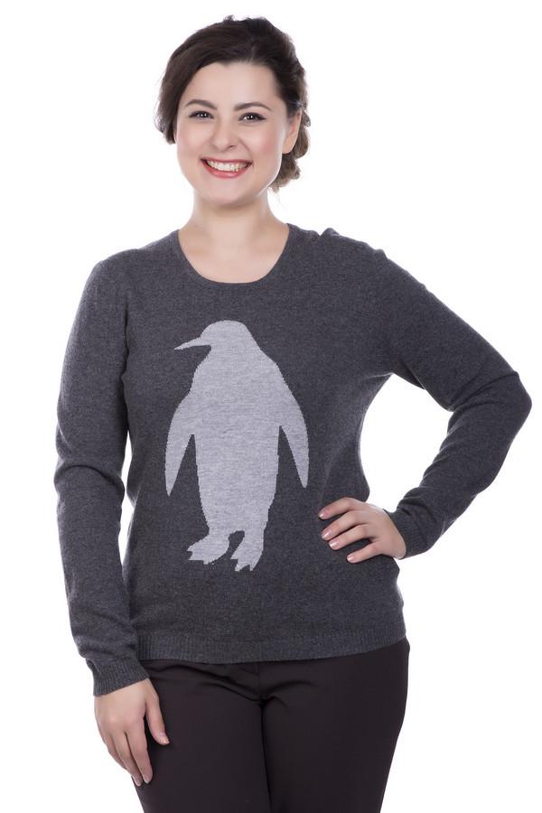 Пуловер Gerry WeberПуловеры<br><br><br>Размер RU: 50<br>Пол: Женский<br>Возраст: Взрослый<br>Материал: шерсть 30%, кашемир 5%, полиамид 30%, вискоза 35%<br>Цвет: Серый