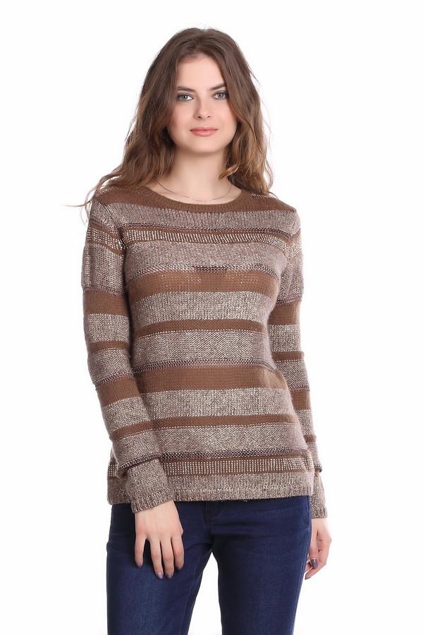 Пуловер Betty BarclayПуловеры<br>Женский теплый пуловер элегантной вязки, предназначенный специально для холодной погоды. Коричневое поле украшают золотистые и желтые полоски. Пуловер слегка удлинен, небольшой круглый вырез, длинный рукав - все, что нужно, чтобы не замерзнуть зимой. Изделие вполне можно надеть в офис и на неформальную встречу. Рукав, круглая горловина и низ заканчиваются тонким манжетом. Состав: 8% вискоза, 10% полиакрил, 40% полиамид, 33% шерсть, 3% мохер.<br><br>Размер RU: 50<br>Пол: Женский<br>Возраст: Взрослый<br>Материал: полиамид 40%, шерсть 33%, вискоза 8%, полиакрил 10%, мохер 3%<br>Цвет: Разноцветный