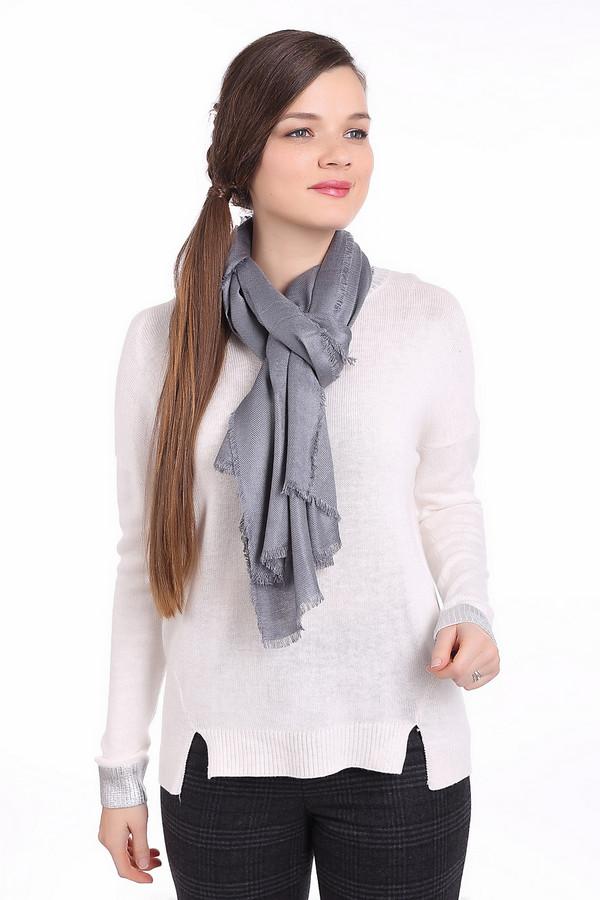 женский шарф codello, серебряный
