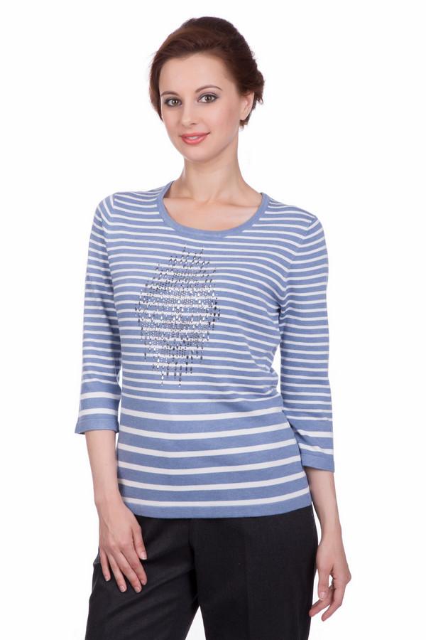 Пуловер Gerry WeberПуловеры<br><br><br>Размер RU: 48<br>Пол: Женский<br>Возраст: Взрослый<br>Материал: эластан 3%, полиамид 15%, вискоза 82%<br>Цвет: Разноцветный