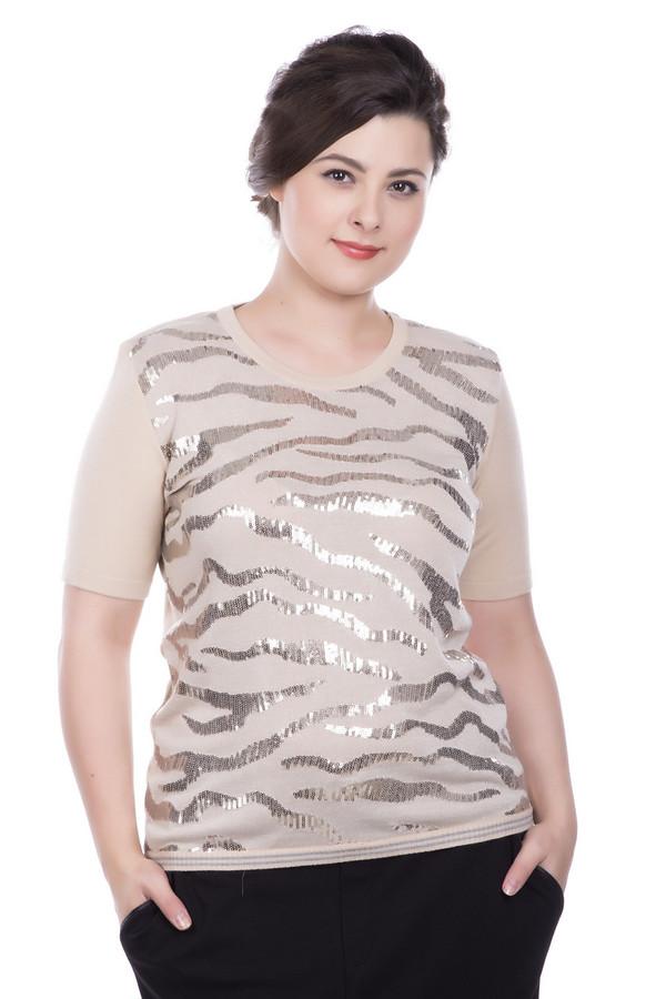 Пуловер Eugen KleinПуловеры<br><br><br>Размер RU: 50<br>Пол: Женский<br>Возраст: Взрослый<br>Материал: эластан 14%, полиакрил 40%, модал 46%<br>Цвет: Золотистый