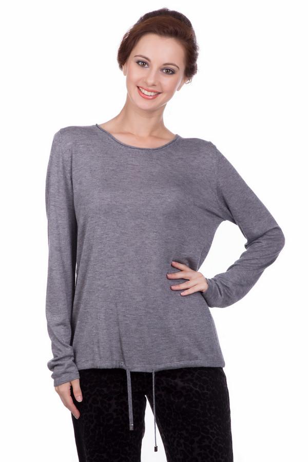 Пуловер LecomteПуловеры<br><br><br>Размер RU: 48<br>Пол: Женский<br>Возраст: Взрослый<br>Материал: вискоза 65%, шерсть 26%, полиамид 9%<br>Цвет: Серый