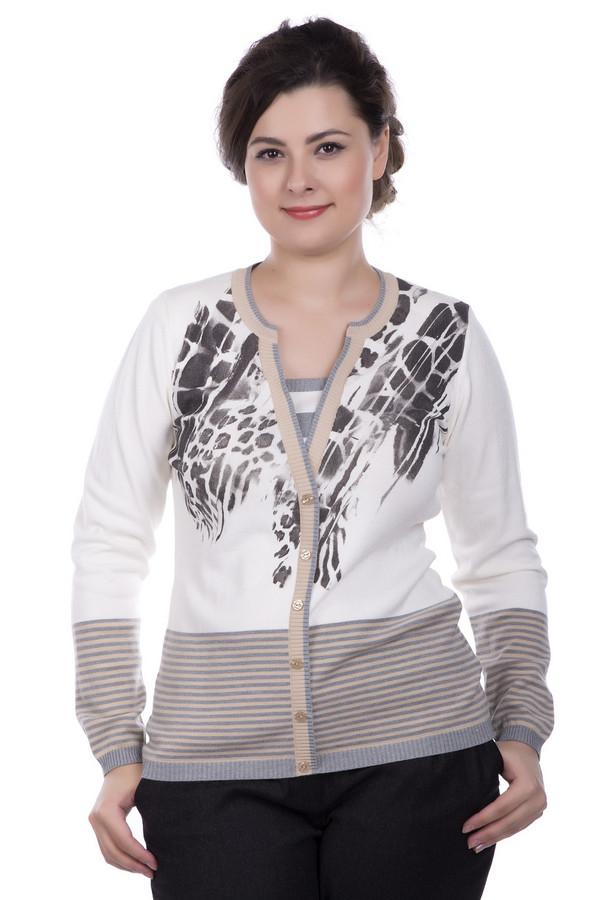 Пуловер Eugen KleinПуловеры<br><br><br>Размер RU: 54<br>Пол: Женский<br>Возраст: Взрослый<br>Материал: эластан 14%, полиакрил 40%, модал 46%<br>Цвет: Разноцветный