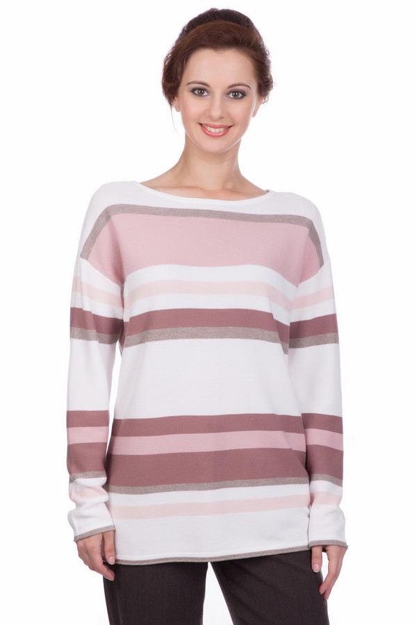 Пуловер Gerry WeberПуловеры<br><br><br>Размер RU: 50<br>Пол: Женский<br>Возраст: Взрослый<br>Материал: хлопок 100%<br>Цвет: Разноцветный