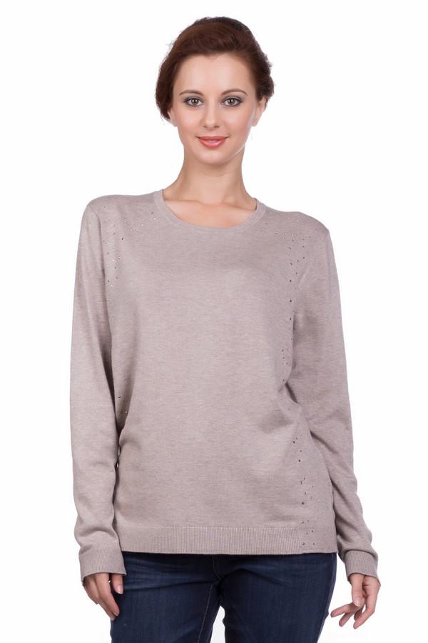 Пуловер Gerry WeberПуловеры<br><br><br>Размер RU: 48<br>Пол: Женский<br>Возраст: Взрослый<br>Материал: эластан 3%, полиамид 15%, вискоза 82%<br>Цвет: Бежевый