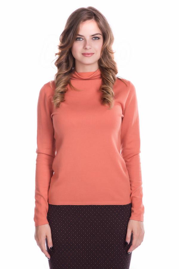 Пуловер PezzoПуловеры<br>Пуловер Pezzo оранжевый. Яркий сочный цвет этой модели – то, что запоминается и обращает на себя внимание. В таком пуловере просто невозможно грустить! Довольно свободный воротничок комфортен в носке, он согреет шею, но вместе с тем не будет стеснять ее движений. Состав: вискоза и полиамид.<br><br>Размер RU: 48<br>Пол: Женский<br>Возраст: Взрослый<br>Материал: полиамид 32%, вискоза 68%<br>Цвет: Оранжевый