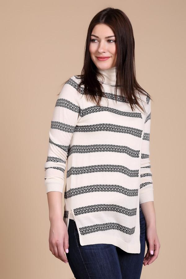 Пуловер PezzoПуловеры<br>Пуловер Pezzo в полоску. Нежный оттенок этой необычной вещи – хорошее дизайнерское решение для самых разных ансамблей. Демисезонный пуловер в полоску асимметричного кроя – выбор настоящих модниц, ценящих комфорт и удобство на каждый день. Состав: вискоза, полиамид, шерсть, акрил. Особенно выигрышно комбинируется с брюками, в частности – джинсами.<br><br>Размер RU: 52<br>Пол: Женский<br>Возраст: Взрослый<br>Материал: полиамид 15%, акрил 45%, шерсть 25%, вискоза 15%<br>Цвет: Голубой