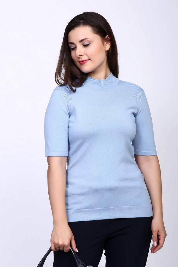 Пуловер PezzoПуловеры<br>Пуловер Pezzo голубого оттенка. Классически строгий и простой по своему фасону, этот пуловер притягивает к себе внимание. Отлично выглядеть просто – стоит лишь приобрести эту восхитительную вещь! Состав: вискоза плюс полиамид. Короткий рукав приоткрывает прелестные женские руки и отлично смотрится.<br><br>Размер RU: 48<br>Пол: Женский<br>Возраст: Взрослый<br>Материал: полиамид 32%, вискоза 68%<br>Цвет: Голубой