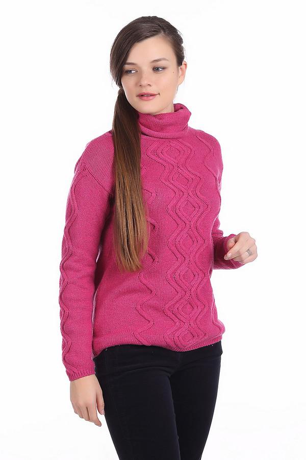 Пуловер PezzoПуловеры<br>Пуловер Pezzo розовый. Стильный зигзагообразный узор в вертикальном направлении сделает вас еще более стройной! Высокий воротник защитит от ветра и непогоды, даря комфорт и обеспечивая тепло. Яркий, но очень гармоничный оттенок превосходно сочетается с самыми разными вещами, позволяя вам создавать все новые ансамбли. Состав: хлопок, полиамид, шерсть.<br><br>Размер RU: 42<br>Пол: Женский<br>Возраст: Взрослый<br>Материал: шерсть 5%, полиамид 47%, хлопок 48%<br>Цвет: Розовый