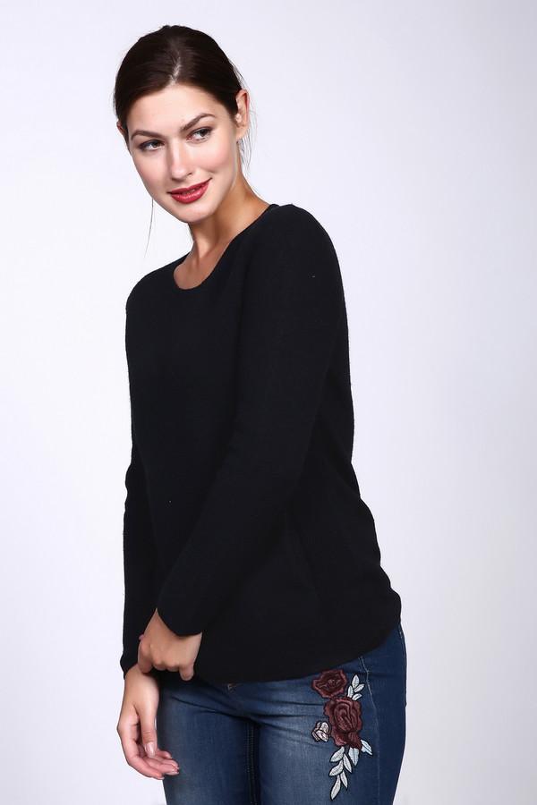Пуловер PezzoПуловеры<br>Пуловер Pezzo черного цвета. Модель изысканная и очень элегантная. Карманы, выполненные другой вязкой, чем основная часть изделия, придают ему оригинальности и изящества. Удлиненный силуэт и округлый вырез горловины подчеркнут вашу женственность и естественную красоту. Состав: 100%-ная шерсть – идеально для демисезонных вещей.<br><br>Размер RU: 48<br>Пол: Женский<br>Возраст: Взрослый<br>Материал: шерсть 100%<br>Цвет: Чёрный