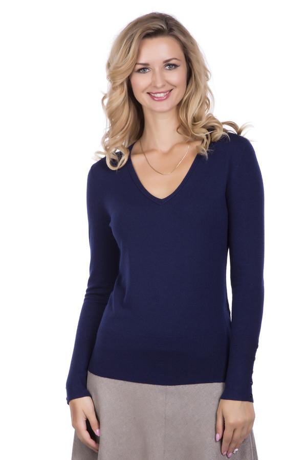 Пуловер PezzoПуловеры<br>Пуловер Pezzo темно-синего оттенка. Актуальная вещь, в которой вы всегда будете чувствовать себя королевой. Пожалуй, каждая женщина любит внимание. Этот пуловер с глубоким  V-образ ным вырезом позволит вам выглядеть не просто хорошо, а великолепно! Состав: вискоза, полиамид, шерсть. Демисезонный пуловер для тех, кто не боится самовыражения.<br><br>Размер RU: 46<br>Пол: Женский<br>Возраст: Взрослый<br>Материал: шерсть 20%, полиамид 33%, вискоза 47%<br>Цвет: Синий