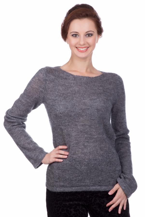 Купить Пуловер Pezzo, Китай, Серый, акрил 30%, полиамид 40%, мохер 30%