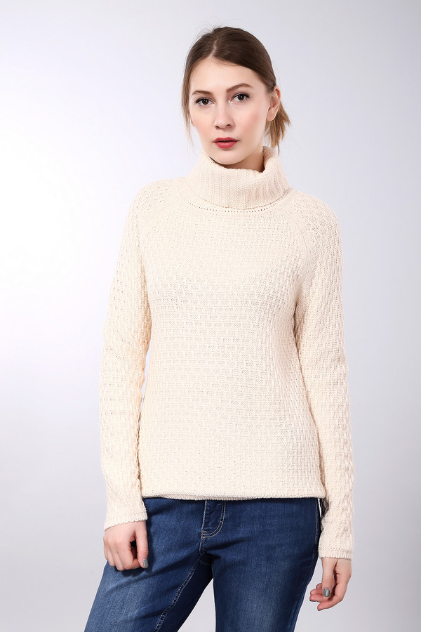 Пуловер PezzoПуловеры<br>Пуловер Pezzo светло-бежевого оттенка. Покрой реглан, актуальный узор и удобный фасон – все эти черты предлагаемой модели делают ее просто великолепной! Шикарный вид в этом пуловере обеспечен вам даже в лютую зимнюю стужу. Состав: акрил, шерсть мерино. Великолепный выбор для тех, кто хочет быть всегда на высоте и в то же самое время не жертвовать своим комфортом.<br><br>Размер RU: 42<br>Пол: Женский<br>Возраст: Взрослый<br>Материал: акрил 50%, шерсть мерино 50%<br>Цвет: Белый