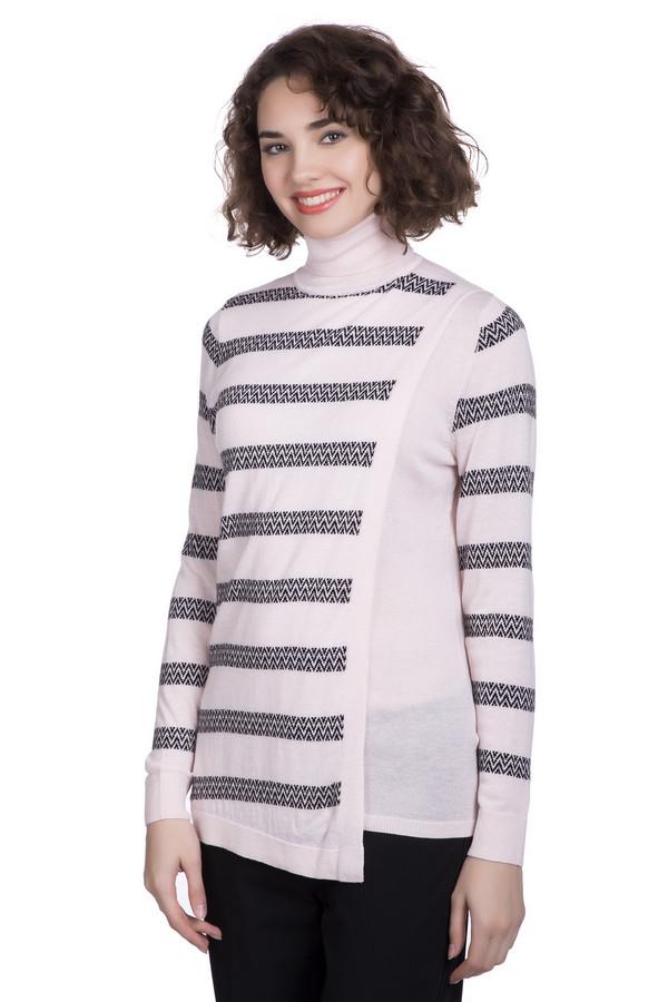 Пуловер PezzoПуловеры<br>Пуловер Pezzo розово -черный . Зигзаги на горизонтальных полосках этого изделия –отличный выбор для того, чтобы не сливаться с толпой и быть яркой и стильной. Однотонные элементы (манжеты, вставки на лифе и воротничок) создают впечатление двух вещей, надетых друг на друга. Волшебная модель для самых разных поводов. На зиму лучше вам не найти. Состав: акрил, шерсть, вискоза и полиамид.<br><br>Размер RU: 54<br>Пол: Женский<br>Возраст: Взрослый<br>Материал: полиамид 15%, акрил 45%, шерсть 25%, вискоза 15%<br>Цвет: Чёрный