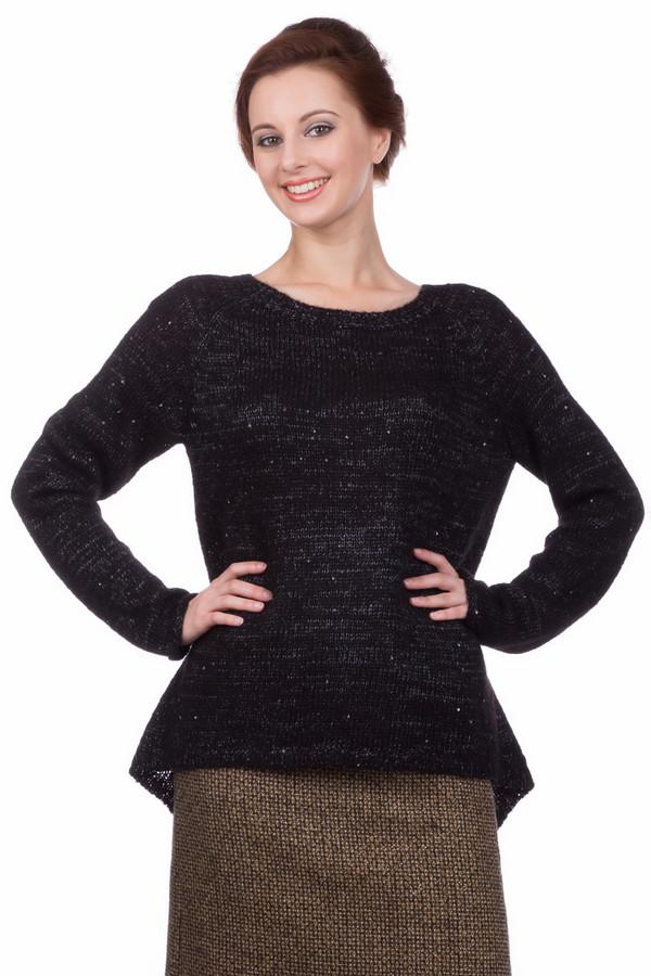 Купить Пуловер Pezzo, Китай, Чёрный, полиэстер 51%, полиамид 14%, мохер 12%, акрил 23%