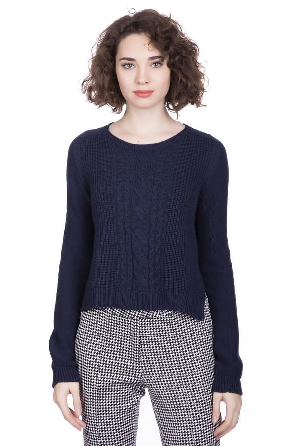 Пуловер MaerzПуловеры<br><br><br>Размер RU: 40-42<br>Пол: Женский<br>Возраст: Взрослый<br>Материал: хлопок 43%, шерсть мерино 57%<br>Цвет: Синий