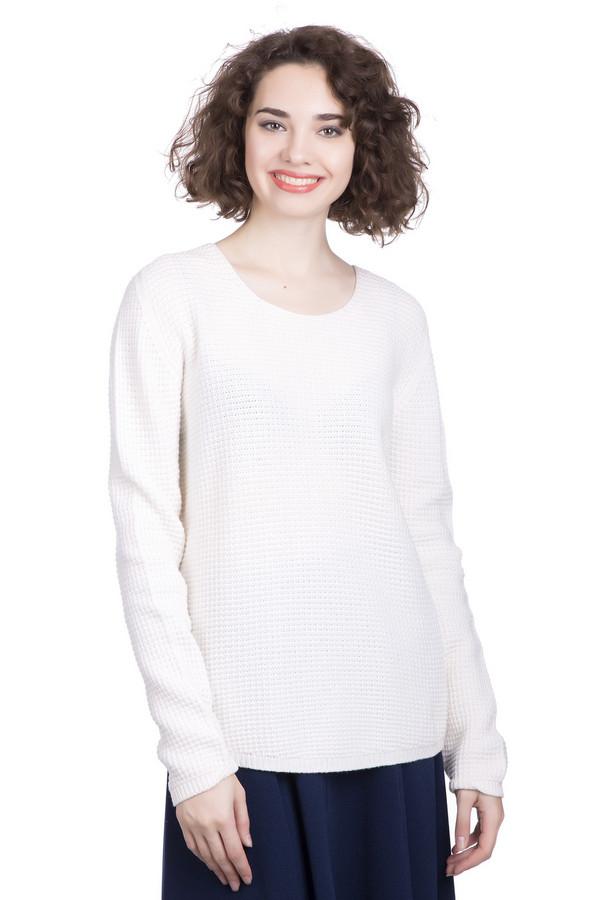 Пуловер MaerzПуловеры<br><br><br>Размер RU: 40-42<br>Пол: Женский<br>Возраст: Взрослый<br>Материал: шерсть 100%<br>Цвет: Белый