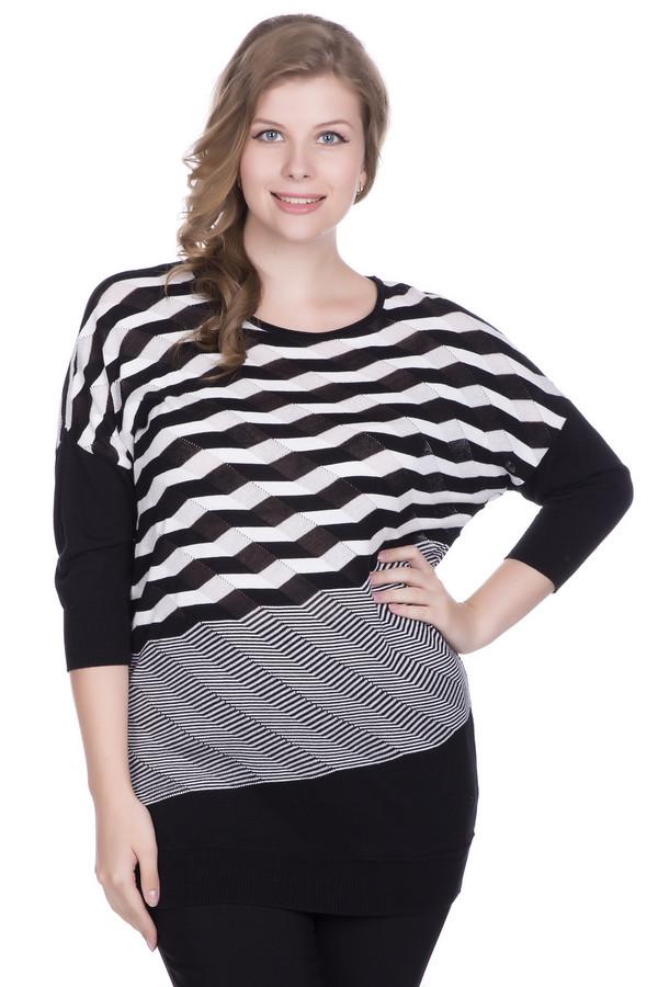 Пуловер SamoonПуловеры<br><br><br>Размер RU: 54<br>Пол: Женский<br>Возраст: Взрослый<br>Материал: хлопок 100%<br>Цвет: Белый