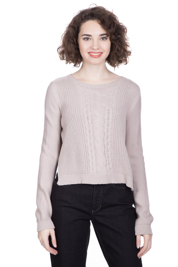 Пуловер MaerzПуловеры<br><br><br>Размер RU: 40-42<br>Пол: Женский<br>Возраст: Взрослый<br>Материал: хлопок 43%, шерсть мерино 57%<br>Цвет: Бежевый