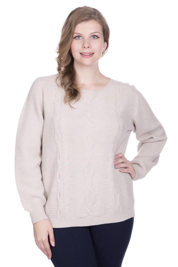 Пуловер MaerzПуловеры<br><br><br>Размер RU: 48-50<br>Пол: Женский<br>Возраст: Взрослый<br>Материал: шерсть 100%<br>Цвет: Бежевый