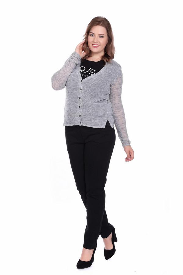 Жакет SIR OliverЖакеты<br><br><br>Размер RU: 50<br>Пол: Женский<br>Возраст: Взрослый<br>Материал: шерсть 20%, полиамид 33%, полиакрил 42%, альпака 5%<br>Цвет: Серый