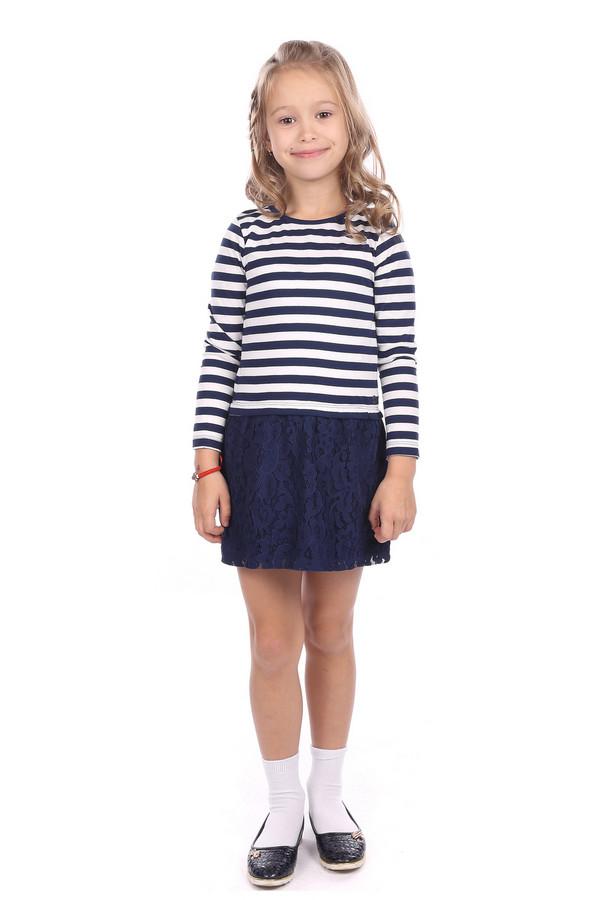 Платье Tom TailorПлатья<br><br><br>Размер RU: 28;104-110<br>Пол: Женский<br>Возраст: Детский<br>Материал: хлопок 100%<br>Цвет: Белый