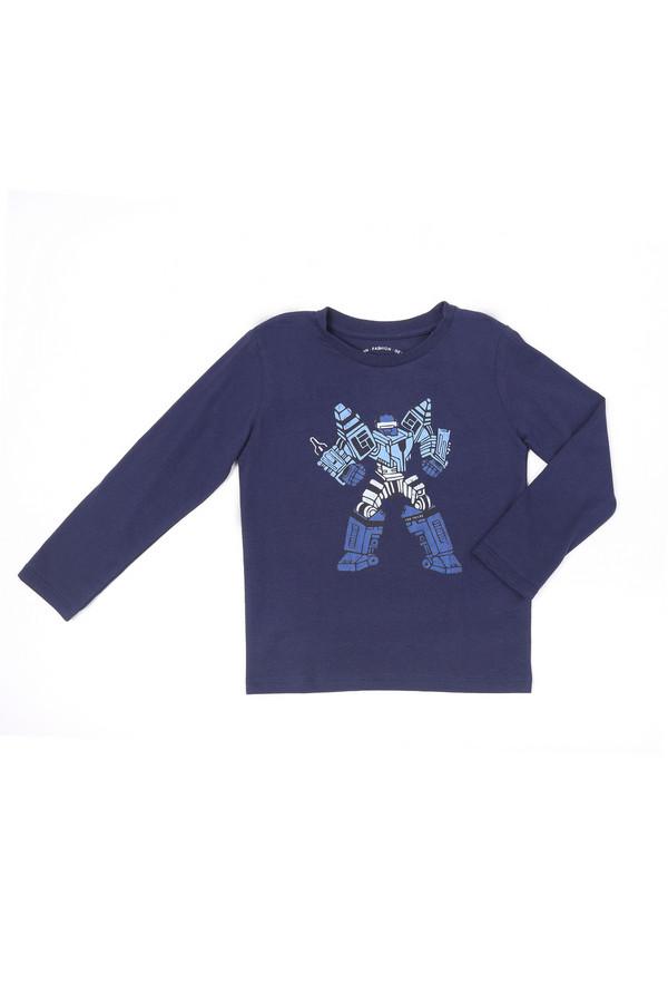 поло tom tailor для мальчика, синее