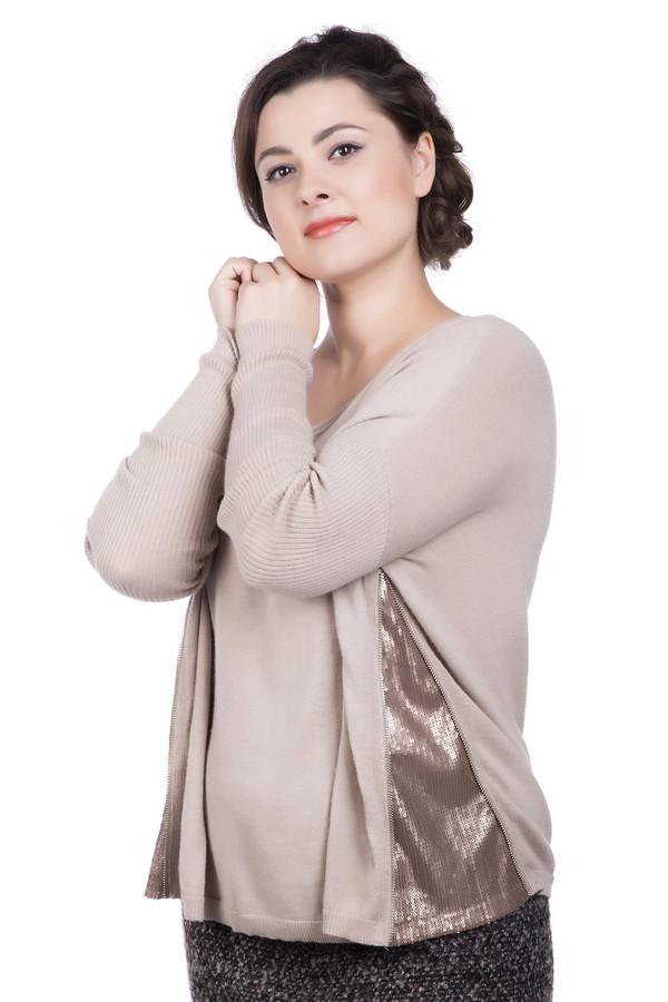 Пуловер LecomteПуловеры<br><br><br>Размер RU: 46<br>Пол: Женский<br>Возраст: Взрослый<br>Материал: полиамид 45%, шерсть 10%, вискоза 42%, кашемир 3%<br>Цвет: Золотистый