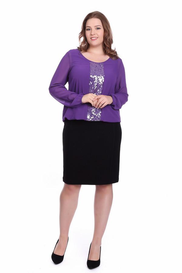 Блузa SamoonБлузы<br><br><br>Размер RU: 52<br>Пол: Женский<br>Возраст: Взрослый<br>Материал: полиэстер 100%<br>Цвет: Фиолетовый