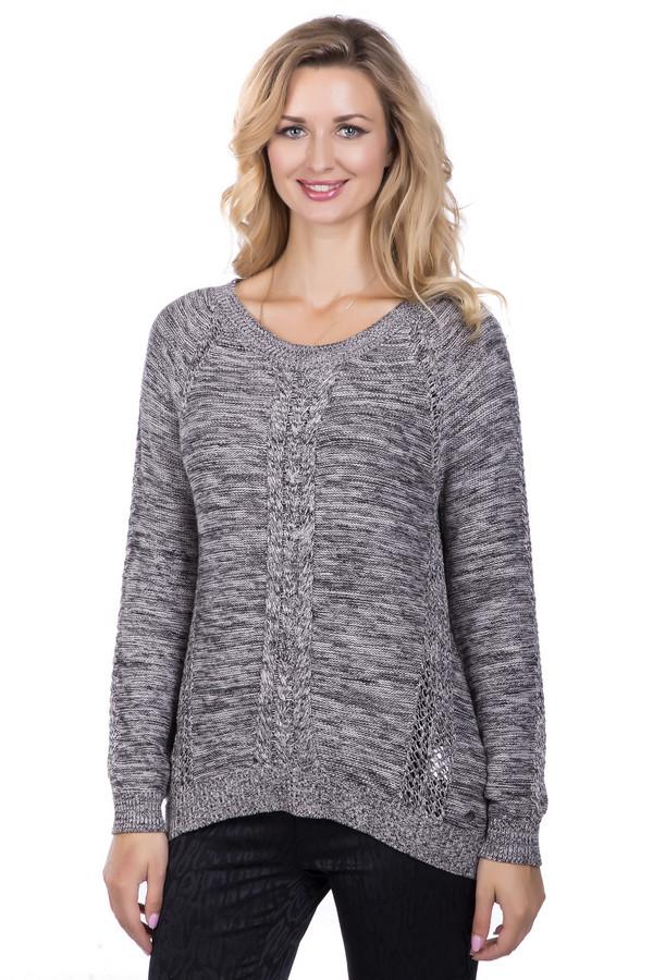 Пуловер s.OliverПуловеры<br><br><br>Размер RU: 44<br>Пол: Женский<br>Возраст: Взрослый<br>Материал: хлопок 50%, полиакрил 50%<br>Цвет: Серый