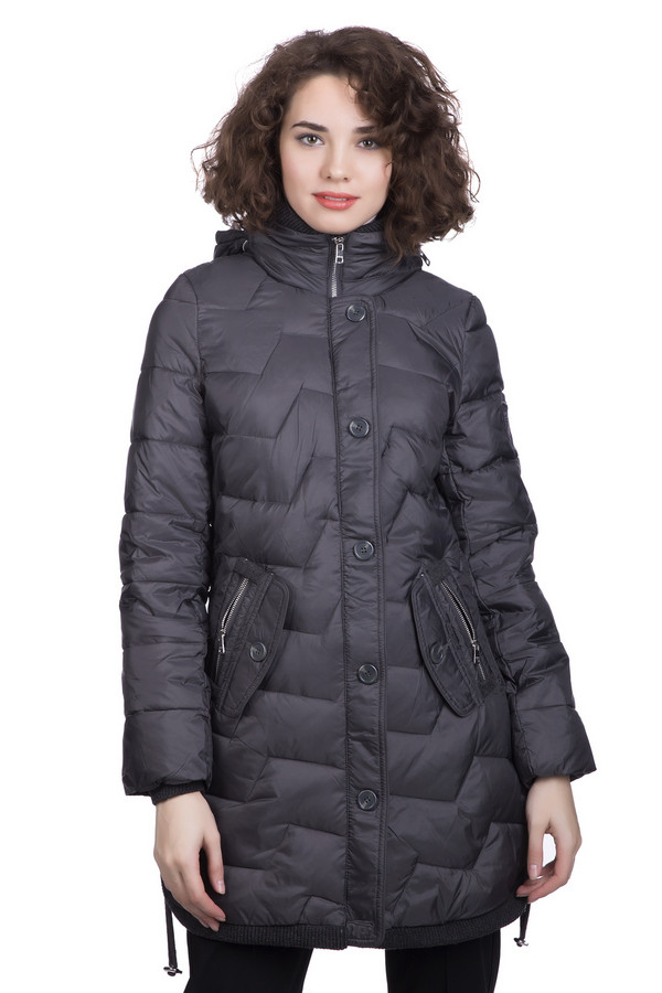 Пальто Just ValeriПальто<br>Пальто Just Valeri женское серое. Если вы решили купить к предстоящему зимнему сезону тёплое пальто, то данная модель именно то, что вам нужно. Лёгкое стёганое, с удобным капюшоном, оно подарит вам уют и комфорт в холодные зимние дни. Пальто прямого кроя, с воротником-стойкой, с застёжкой на пуговицах и на молнии. Состав: 100% нейлон, наполнитель – полиэстер.<br><br>Размер RU: 48<br>Пол: Женский<br>Возраст: Взрослый<br>Материал: нейлон 100%, Состав_подкладка полиэстер 100%, Состав_наполнитель полиэстер 100%<br>Цвет: Серый