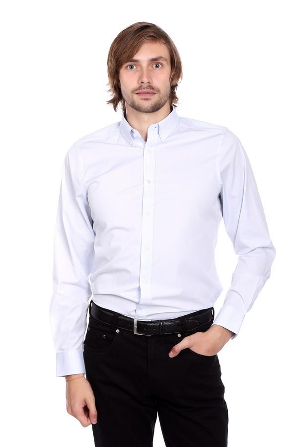 Рубашка с длинным рукавом Just ValeriДлинный рукав<br>Рубашка с длинным рукавом Just Valeri белая мужская. Отличная модель на любой случай. Традиционный для делового стиля отложной воротничок и классическая застежка на пуговицы спереди подчеркивают официальность вашего образа. Для вашего образа нет ничего лучше, чем простая и при этом очень изысканная рубашка с длинным рукавом. Состав: хлопок и полиэстер. Отличная модель под брюки или более свободные джинсы.<br><br>Размер RU: 45<br>Пол: Мужской<br>Возраст: Взрослый<br>Материал: полиэстер 30%, хлопок 70%<br>Цвет: Белый