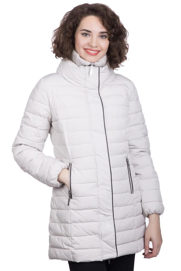 Куртка PezzoКуртки<br>Куртка Pezzo серая. Ее удобный удлиненный силуэт идеально хорош для тех, кто заботится о своем здоровье, тепле и уюте. Никакой ветер не страшен, если у вас имеется подобная вещь. Двойная застежка – на кнопках и молния – необычайно функциональна. Эта куртка поможет вам полюбить зиму еще больше. Контрастная темная отделка краев куртки и ее карманов расставляет акценты и увеличивает очарование этой модели. Состав – полиэстер.<br><br>Размер RU: 42<br>Пол: Женский<br>Возраст: Взрослый<br>Материал: полиэстер 100%, Состав_подкладка полиэстер 100%, Состав_наполнитель полиэстер 100%<br>Цвет: Серый