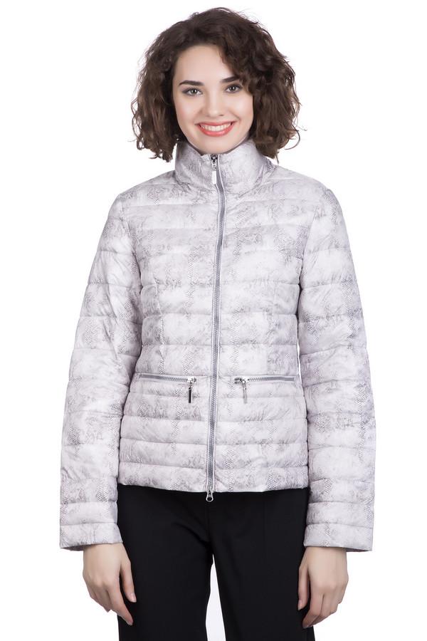 Куртка PezzoКуртки<br>Куртка Pezzo серая женская. Удобная, комфортная модель «змеиной» расцветки не даст вам замерзнуть – демисезонное изделие подойдет как для дождливой, так и для сухой погоды. Молния спереди позволит вам быстро надевать и застегивать, а также снимать эту вещь. Состав: нейлон, наполнитель – полиэстер, подкладка – нейлон. Куртка отлично сочетается с вещами в нейтральном и в спортивном стиле.<br><br>Размер RU: 46<br>Пол: Женский<br>Возраст: Взрослый<br>Материал: нейлон 100%, Состав_наполнитель полиэстер 100%, Состав_подкладка нейлон 100%<br>Цвет: Серый