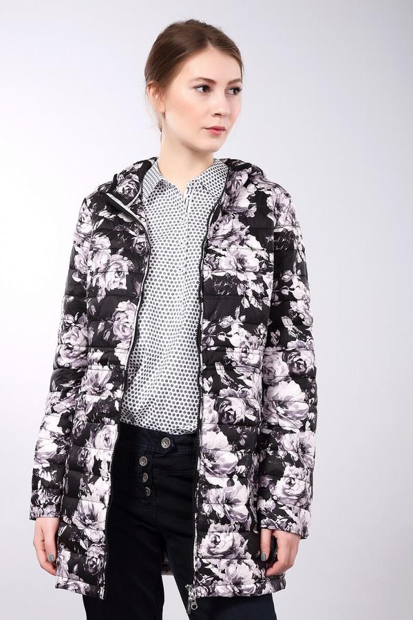 Куртка PezzoКуртки<br>Куртка Pezzo черно-серая. Очаровательный растительный рисунок этой куртки выглядит очень женственно, а потому вы сможете даже в верхней одежде смотреться изящно и необычно. Простеганное изделие удлиненного силуэта отлично подходит для капризов погоды для зимней слякоти. Состав: нейлон и полиэстер (наполнитель).<br><br>Размер RU: 44<br>Пол: Женский<br>Возраст: Взрослый<br>Материал: нейлон 100%, Состав_наполнитель полиэстер 100%, Состав_подкладка нейлон 100%<br>Цвет: Серый