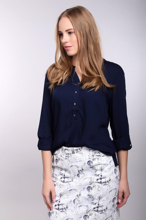 Блузa PezzoБлузы<br>Блузa Pezzo женская синяя. Красивая блуза свободного кроя обязательно привлечёт ваше внимание. Изящная застёжка с пуговичками, кокетка на спинке с двумя защипами, свободный длинный рукав создают некий романтический образ, который интригует и завораживает одновременно. Такая блуза шикарно смотрится с узкими брюками и обувью на высоком каблуке. Состав: 100% район<br><br>Размер RU: 42<br>Пол: Женский<br>Возраст: Взрослый<br>Материал: район 100%<br>Цвет: Синий