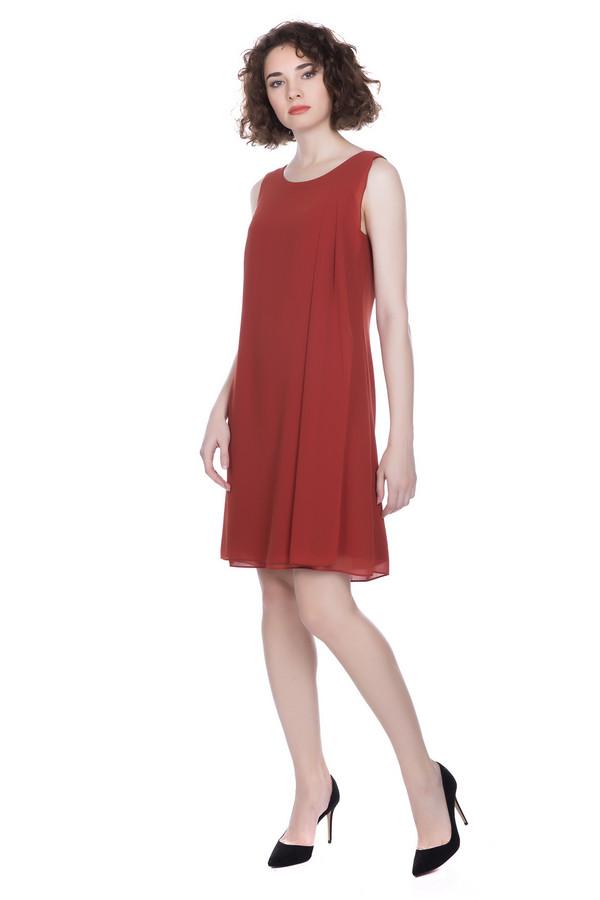 Платье Tom TailorПлатья<br><br><br>Размер RU: 48<br>Пол: Женский<br>Возраст: Взрослый<br>Материал: полиэстер 100%<br>Цвет: Красный