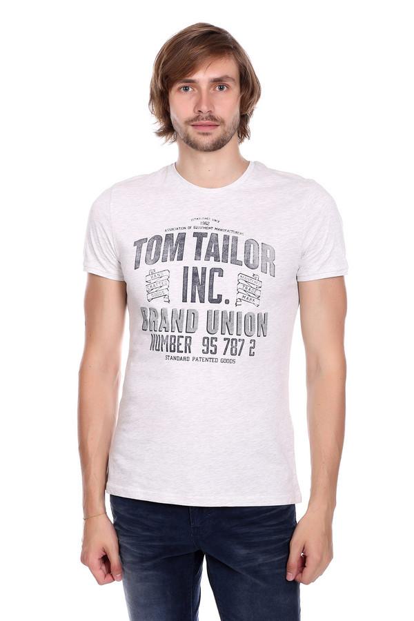Футболкa Tom TailorФутболки<br><br><br>Размер RU: 44-46<br>Пол: Мужской<br>Возраст: Взрослый<br>Материал: хлопок 100%<br>Цвет: Чёрный