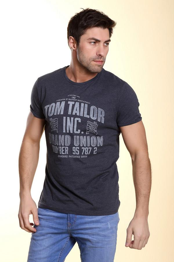 Футболкa Tom TailorФутболки<br><br><br>Размер RU: 52-54<br>Пол: Мужской<br>Возраст: Взрослый<br>Материал: хлопок 60%, полиэстер 40%<br>Цвет: Белый