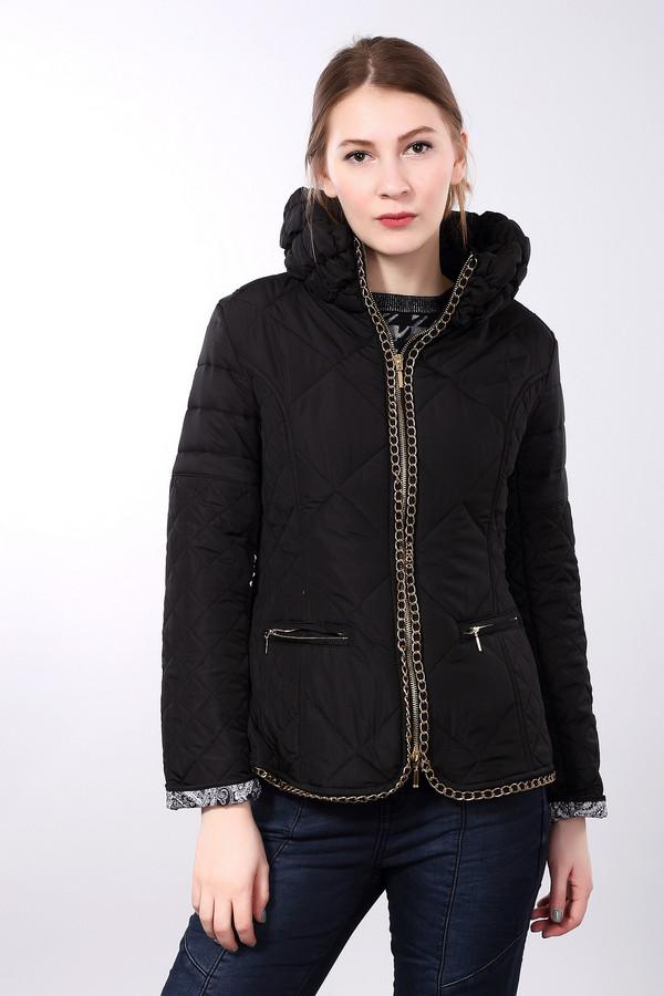 Куртка Just ValeriКуртки<br>Куртка Just Valeri черная. Это отличная модель для всех тех, кто любит выглядеть нетривиально. Классический крой и расцветка дополнены золотистыми декоративными цепочками, которые придают данной модели изящества и вносят в нее свою «изюминку». Состав: полиэстер. Красивая демисезонная курточка, выполненная из простеганной ткани. Горизонтальные карманы на молнии и застежка спереди на молнию – очень удобное решение.<br><br>Размер RU: 46<br>Пол: Женский<br>Возраст: Взрослый<br>Материал: полиэстер 100%, Состав_подкладка полиэстер 100%<br>Цвет: Чёрный